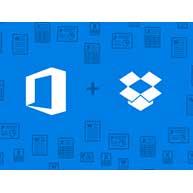 همکاری مایکروسافت و دراپ باکس
