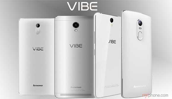 تغییر مشخصات Vibe Max ششمین گوشی لو رفته لنوو