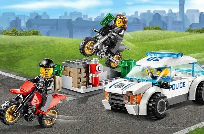 دزدان 260 هزار دلاری LEGO دستگیر شدند
