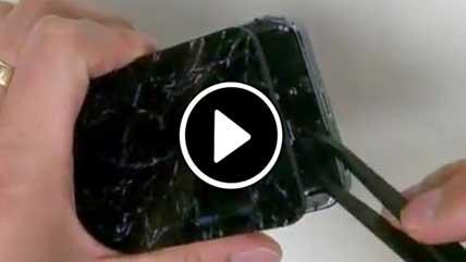 تعویض صفحهنمایش شکسته iPhone 5S