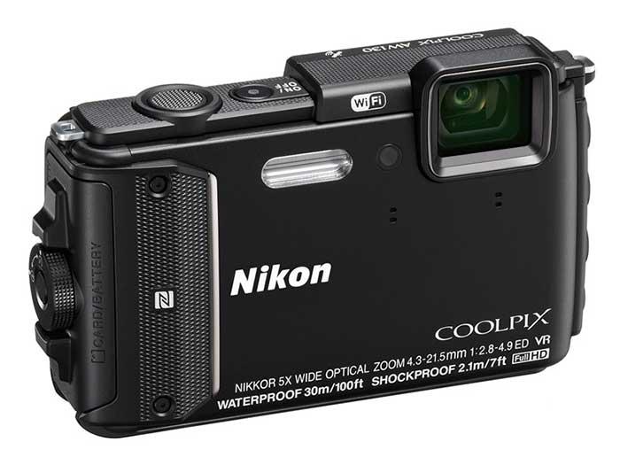 نیکون AW130 دوربین مقاوم 16 مگاپیکسلی
