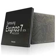 رونمایی سامسونگ از Exynos 7 اکتا 14 نانومتری