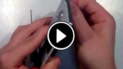 بازگشایی قطعات و تعمیر Galaxy S5 سامسونگ