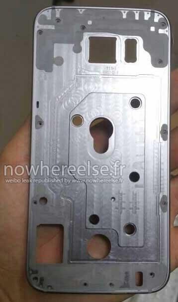 تصاویر احتمالی از شاسی فلزی سامسونگ Galaxy S6