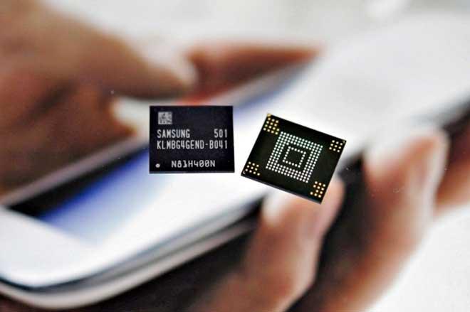 حافظههای موبایلی سامسونگ ePoP به مرحله تولید رسید