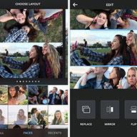 ارائه اپلیکیشن layout برای کلاژ کردن تصاویر