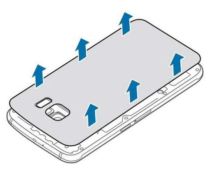 Galaxy S6 - امکان جداسازی باتری گلکسی اس 6