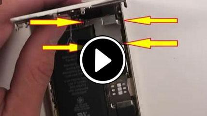 تعویض پورت شارژر در ایفون 5S