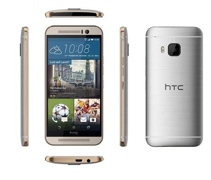 کاهش سود اچ تی سی در آوریل 2015 به دلیل عملکرد ضعیف HTC M9