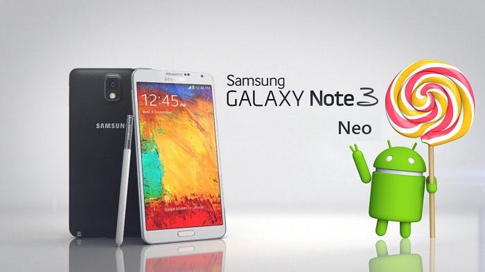 ارائه اندروید 5 برای نوت 3 نئو - Note 3 Neo