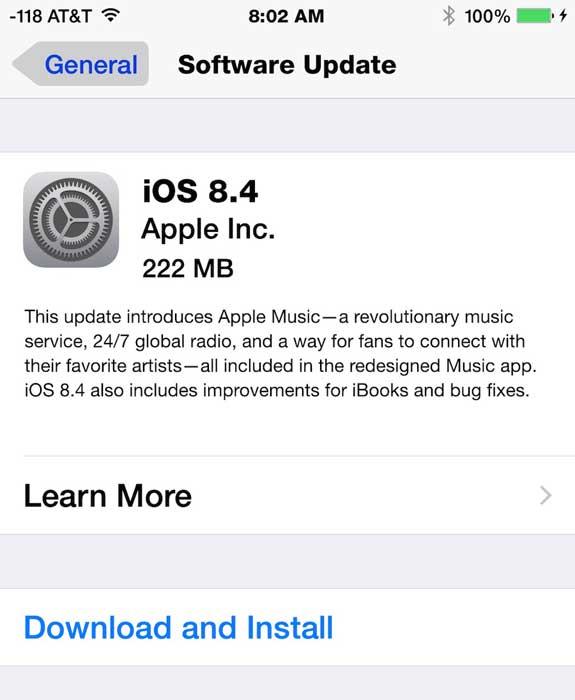Apple Music - ارائه ios 8.4 با سرویس اپل موزیک