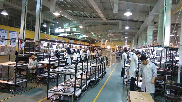 بازدید از کارخانه ام اس آی (MSI)