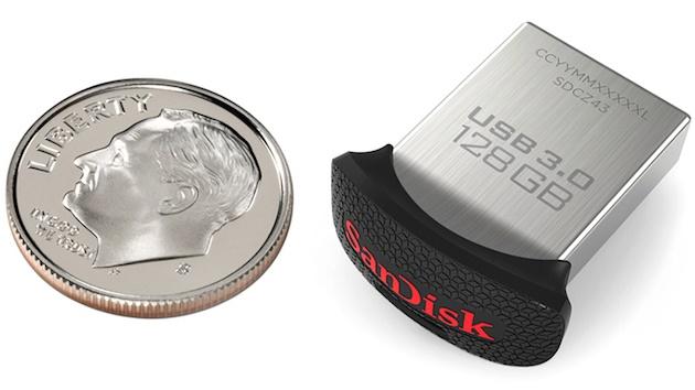 Ultra Fit USB 3.0 - فلش درایو کوچک سن دیسک