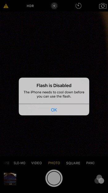 iPhone 6S - گرم شدن بیش از اندازه آیفون 6s در حین گشودن اپلیکیشن دوربین