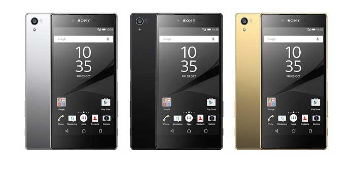 سونی Z5 - معرفی رسمی خانواده اکسپریا z5 سونی