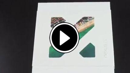 بازگشایی جعبه LG Nexus 5X