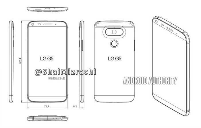 LG G5 - تصاویر طرح ال جی g5