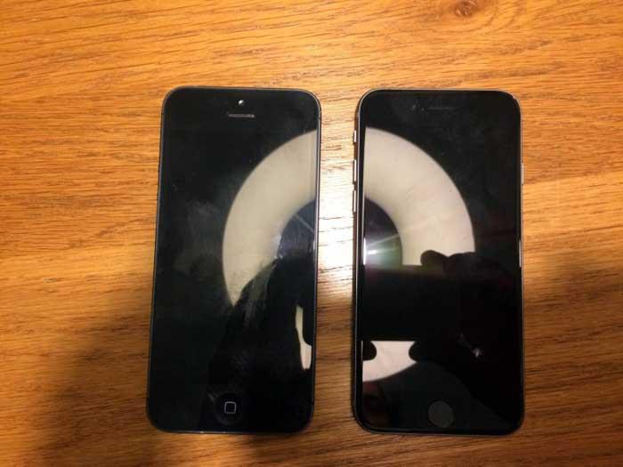 انتشار تصویر منتصب به iPhone 5se  - آیفون 5se