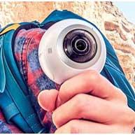 قیمت گذاری دوربین gear 360 سامسونگ در کره جنوبی