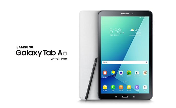 معرفی نسخه جدیدی از گلکسی tab a 2016 با قلم s pen