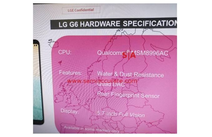 رسما اعلام شد: پرچمدار LG فقط با اسنپدراگون 821 میآید