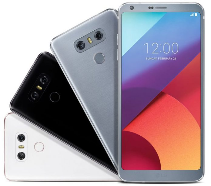 این شما و این تصاویر LG G6 به رنگ سفید، پلاتینیوم و مشکی