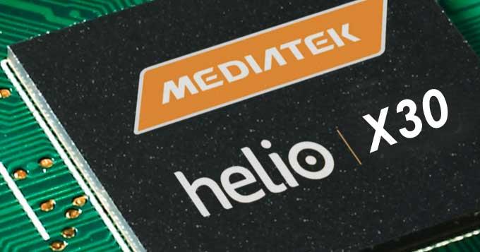 معرفی چیپست 10 نانومتری 10 هستهای Helio X30 رقیب اسنپدراگون 835
