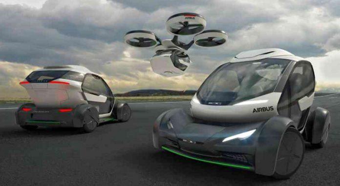 با ماشین پرنده ایرباس با طراحی ایتالدیزاین آشنا شوید