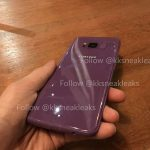 انتشار تصویری از گلکسی S8 بنفش رنگ