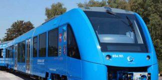 تست اولین قطار هیدروژنی با سوخت آب و بخار