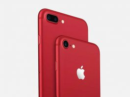 آیفون 7 قرمز و آیفون 7 پلاس قرمز رنگ معرفی شدند