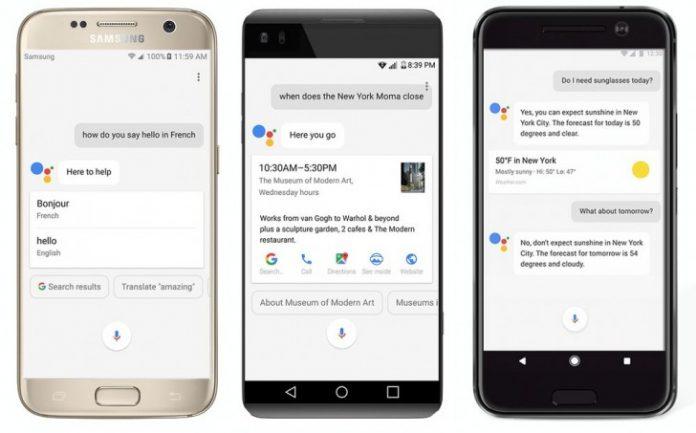 گوگل Assistant برای همه گوشیهای منطبق ارائه شد