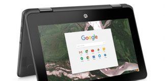گوگل، کروم بوک HP را بدون مشخصات معرفی کرد!