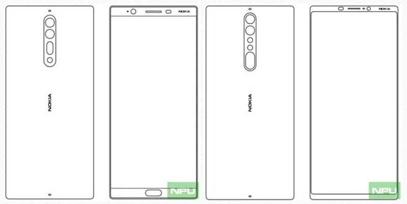 تصاویر پیشرفتهترین مدلهای امسال نوکیا؟ ؛ Nokia 8 و Nokia 9