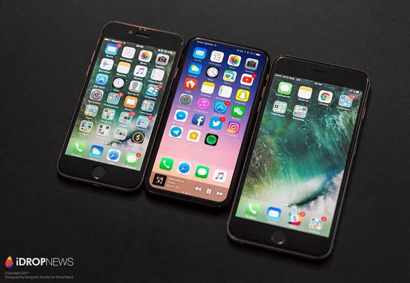 طرح دیگری از آیفون جدید برپایه نظرات کارکنان اپل