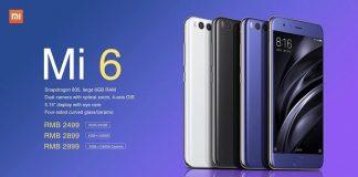 7 رنگ جدید برای شائومی می 6 و خبرهایی از Mi 6 Plus