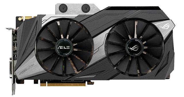 ایسوس گرافیک GeForce GTX 1080 Ti را معرفی کرد