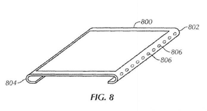 پتنت جدید اپل پنل خمیده بی حاشیه - Touch ID زیر شیشه