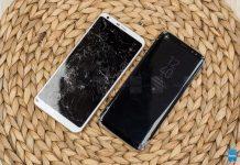 LG G6 یا سامسونگ S8 کدام بدنه مقاومتری دارند+ ویدئو