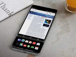 ال جی V30 یک گوشی کشویی با دو صفحهنمایش خواهد بود؟