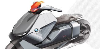 با موتور BMW الکتریکی Motorrad Concept Link آشنا شوید