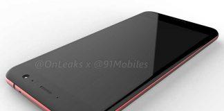 فاش شدن رندر کامپیوتری HTC U 11 قرمز رنگ