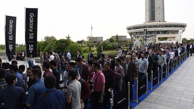 گوشیهای سامسونگ گلکسی S8 و +S8 وارد ایران شدند