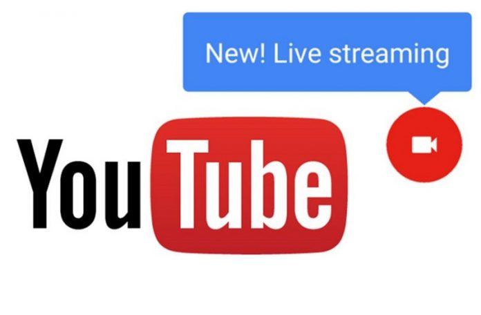 ویدئوی لایو یوتیوب برای همه آزاد شد
