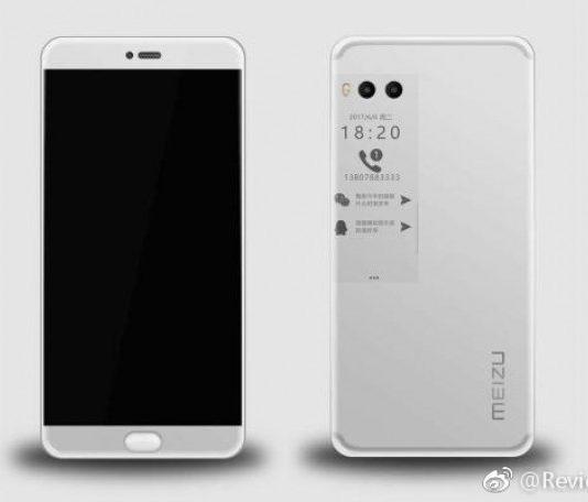 تصویر رخنه کرده از Meizu Pro 7 ؛ اسمارتفونی با دو صفحهنمایش