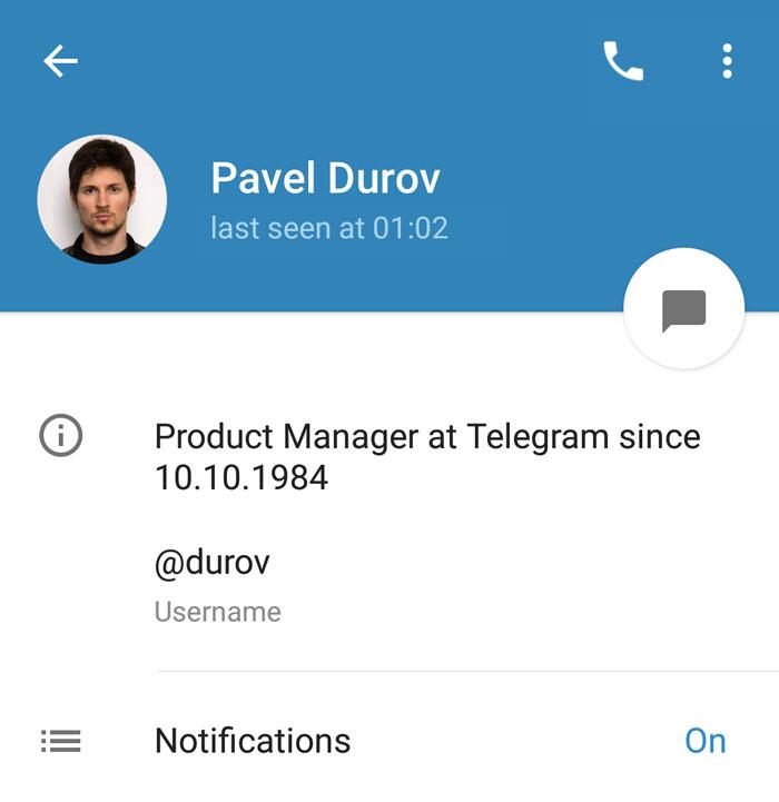 قابلیت تلگرام جدید :عکس و ویدئوهایی که خودبخود پاک میشوند!