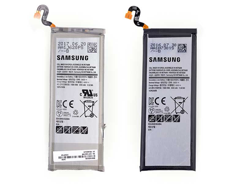 Note Fan Edition کالبد شکافی شد: کاهش سایز و حجم باتری انفجاری