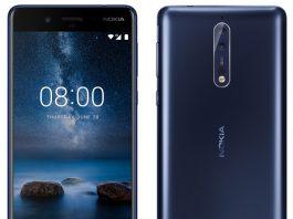 مشخصات و عکس رسمی Nokia8 در دو رنگ آبی و سفید