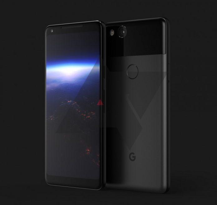 این تصویری از گوگل Pixel 2 XL است؟