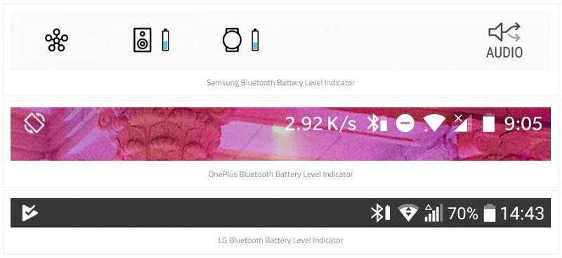 از این به بعد شارژ باتری هدست بلوتوث را روی موبایل ببینید